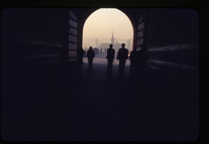 Thumbnail of Through arch -- Forbidden City -- into Peking