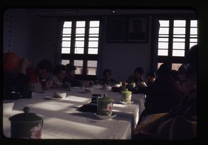 Thumbnail of Nanjing Primary School -- briefing around table