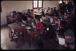 Thumbnail of Nanjing Primary School -- typical classroom scene (younger)