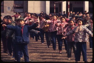 Thumbnail of Hsiao Ying Primary School -- calisthenics in line