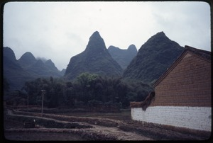 Thumbnail of Farm building, rock walls