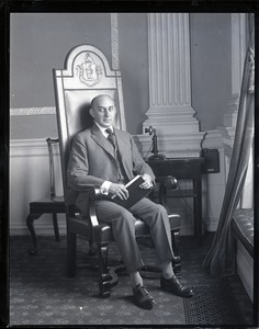 Thumbnail of Channing H. Cox, formal portrait