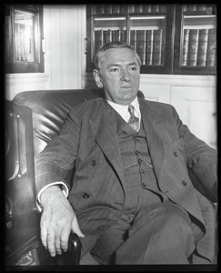Thumbnail of James Michael Curley: informal portrait