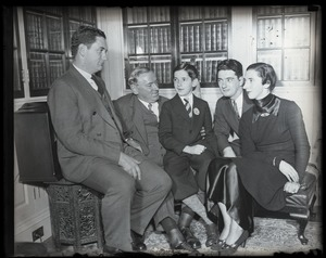 Thumbnail of James Michael Curley and family