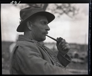 Thumbnail of Otis Fish, the blind clam digger of Falmouth