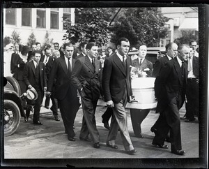 Thumbnail of Mark Hellinger: funeral for unidentified person