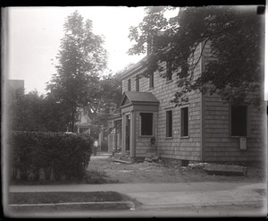 Thumbnail of Alfred W. Ingalls' new house, late in construction