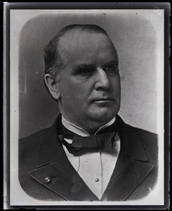 Thumbnail of William McKinley Copy of portrait of McKinley, bust