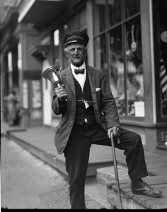 Thumbnail of Walter T. Smith, the last town crier In the Provincetown streets