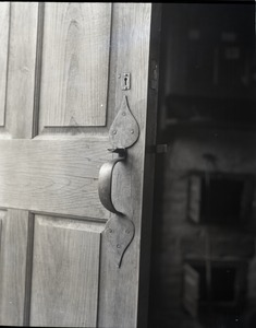 Thumbnail of Birthplace of Daniel Webster Door latch leading into the kitchen