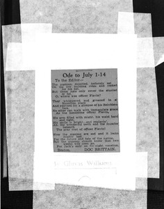 Thumbnail of Ode to July 1-14