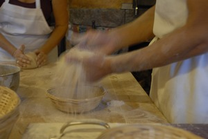 Thumbnail of Hungry Ghost Bread: bakers making bread