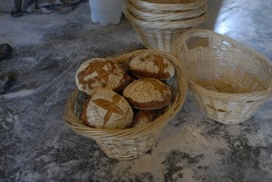 Thumbnail of Hungry Ghost Bread: fresh-baked loaves of bread