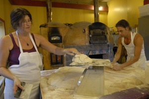 Thumbnail of Hungry Ghost Bread: Jonathan C. Stevens and Cheryl Maffei preparing bread dough