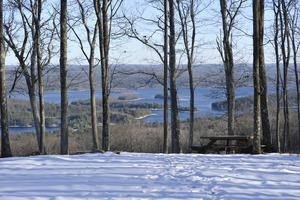 Thumbnail of View over the Quabbin Reservoir from New Salem