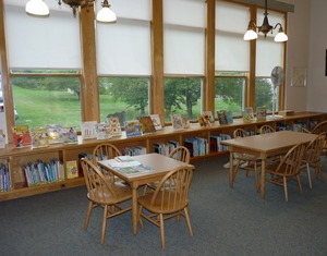 Thumbnail of Belding Memorial Library: children's room