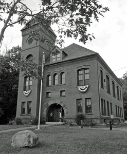 Thumbnail of Tyler Memorial Library: front view of the library