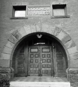 Thumbnail of Tyler Memorial Library: front entrance