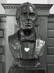 Thumbnail of Forbes Library: bust of Charles Edward Forbes