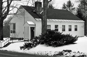 Thumbnail of Moore-Leland Library, North Orange, Mass.: front entrance