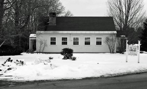 Thumbnail of Moore-Leland Library, North Orange, Mass.: side view