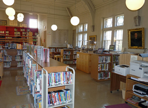 Thumbnail of Petersham Memorial Library: library interior