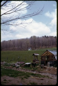 Thumbnail of Outbuildings and fields, Montague Farm Commune