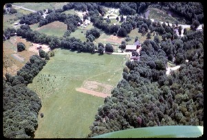 Thumbnail of Aerial view of Montague Farm commune