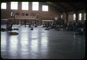 Thumbnail of  Cleaning out: Occupation of the Seabrook Nuclear Power Plant Remaining occupiers tidying up the armory floor