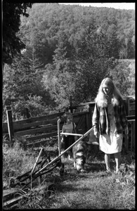 Thumbnail of Janice Frey and daughter Sequoya, Montague Farm Commune