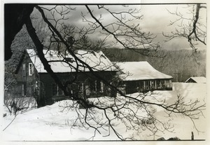 Thumbnail of Packer Corners commune farmhouse in the snow