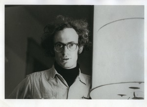 Thumbnail of John Wilton: portrait with lamp, Montague Farm Commune