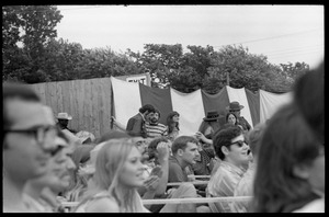 Thumbnail of Audience waiting to see Taj Mahal in concert, Newport Folk Festival