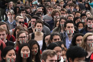 Thumbnail of Brown University students protest mishandling of assault cases