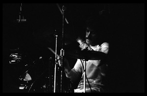 Thumbnail of John Densmore (The Doors) on drums, Madison Square Garden