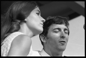 Thumbnail of Ian and Sylvia Tyson performing on stage, Newport Folk Festival