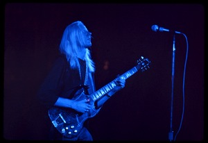 Thumbnail of Johnny Winter performing at Woodstock