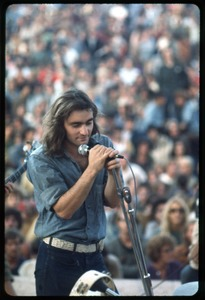 Thumbnail of Marty Balin (Jefferson Airplane) performing on stage at the Woodstock Festival