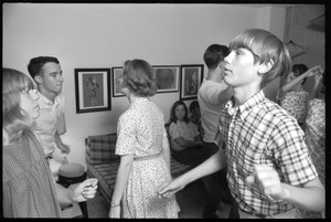 Thumbnail of Teenage long hair: boys and girls dancing at a teenage dance party