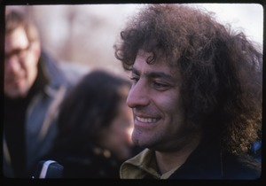 Thumbnail of Abbie Hoffman, smiling in a crowd