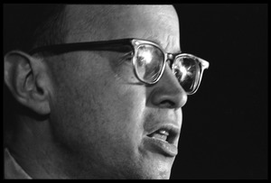 Thumbnail of Arthur M. Schlesinger, Jr., speaking at the National Teach-in on the Vietnam War