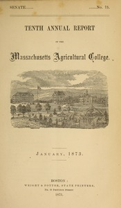 Thumbnail of Tenth annual report of the Trustees of the Massachusetts Agricultural College