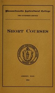 Thumbnail of Short courses M.A.C. Bulletin vol. 5, no. 6