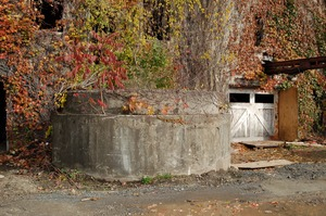 Thumbnail of Cistern outside Cow Barn Brooks Barn Complex, UMass Amherst