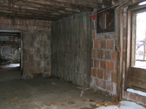 Thumbnail of Interior walls Basement of the Cow Barn: Brooks Barn Complex, UMass Amherst