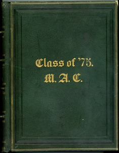 Thumbnail of Massachusetts Agricultural College Class of 1875 Class Book
