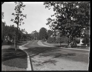 Thumbnail of Amherst street, near Massachusetts Agricultural College