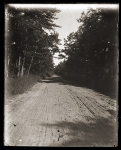Thumbnail of Dirt road near Massachusetts Agricultural College