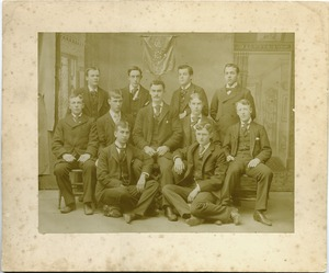 Thumbnail of D.G.K. fraternity members, Massachusetts Agricultural College