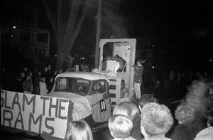 Thumbnail of Homecoming Parade (versus the University of Rhode Island) Slam the Rams
